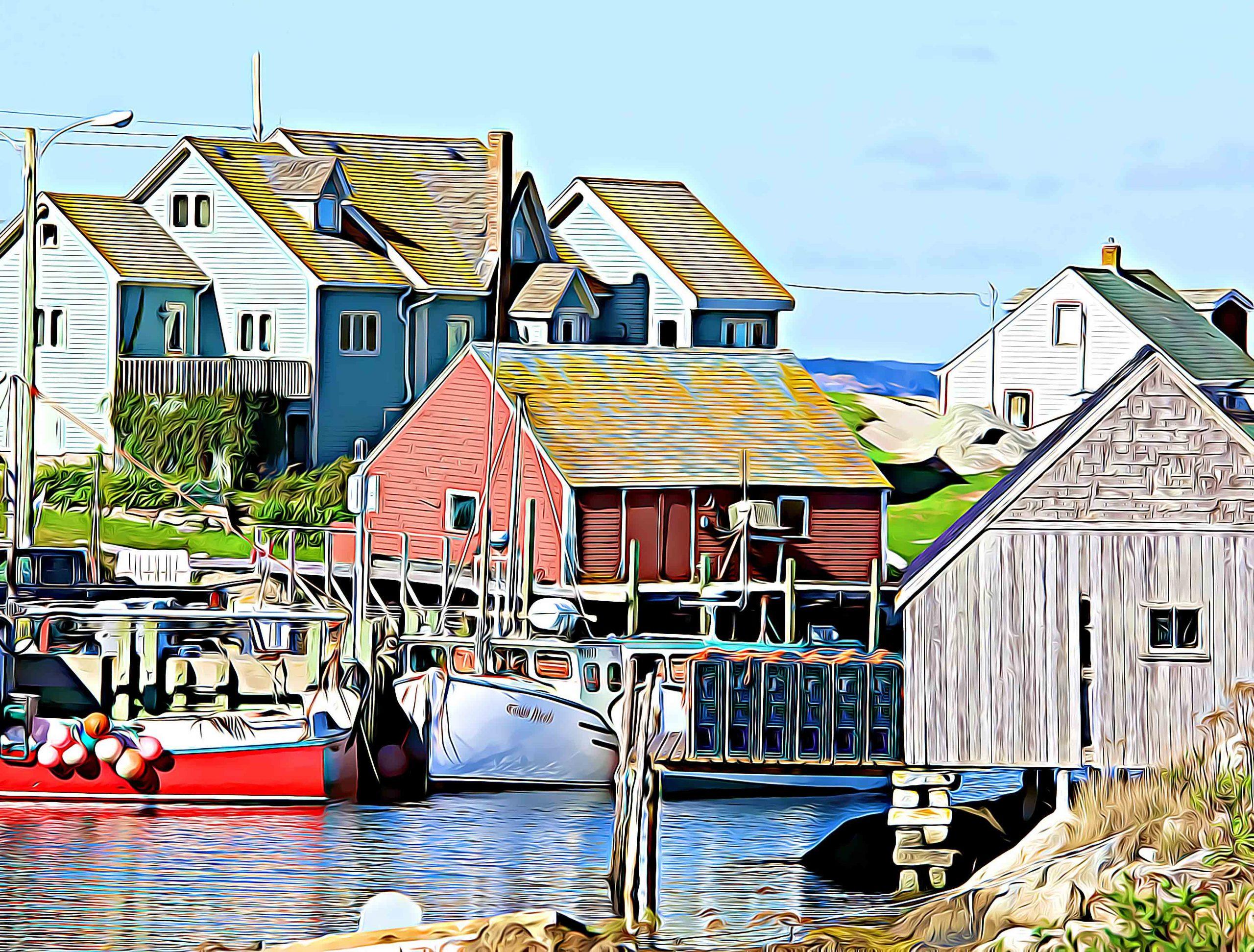 Boat Houses of Nova Scotia photo