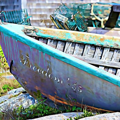 Freedom 55 Boat Photo Print