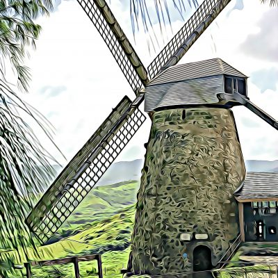 Barbados Windmill Photo