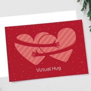 Virtual Hug Holiday Card
